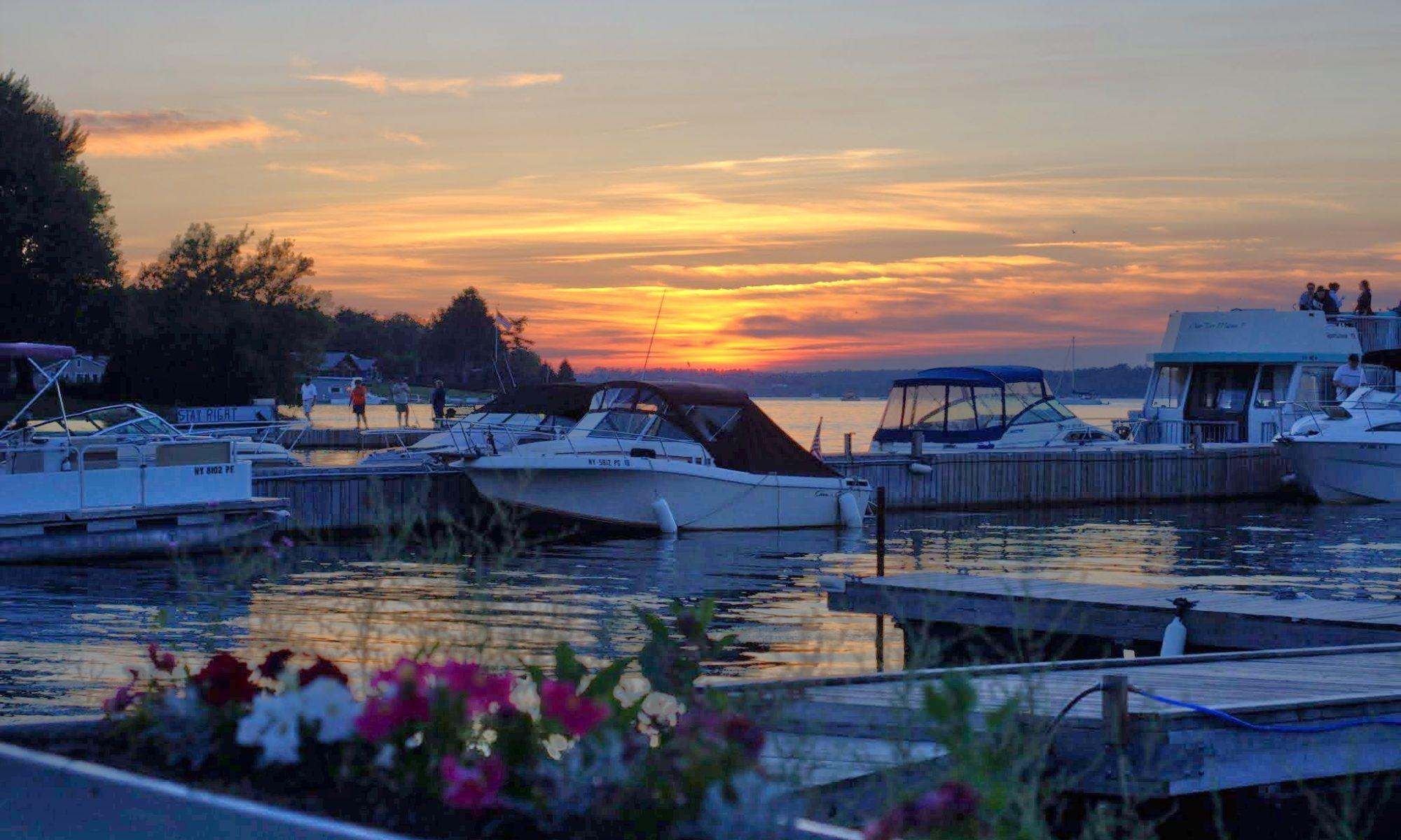 Bayside Marina in Clayton NY in 1000 Islands